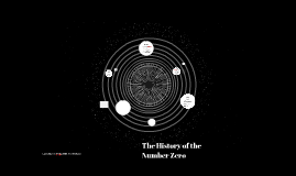 The History of the Number Zero