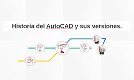 Copy of Historia del AutoCAD y sus versiones.