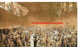 La Révolution française.