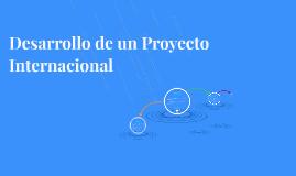 Desarrollo de un Proyecto Internacional