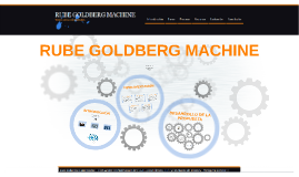 Copy of RUBE GOLDBERG MACHINE