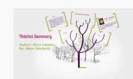Copy of Hatchet Summary
