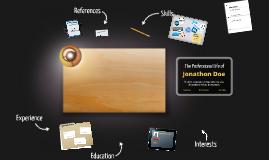 Desktop Prezumé de David Ramirez