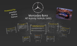 Copy of Mercedes-Benz All Activity Vehicle (AAV)