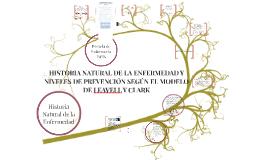 Copy of HISTORIA NATURAL DE LA ENFERMEDAD Y NIVELES DE PREVENCIÓN LEAVELL Y CLARK.