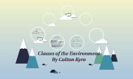 Classes of the Environment