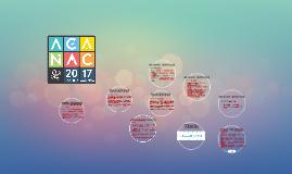 ACANAC 2017 - projeto pedagógico