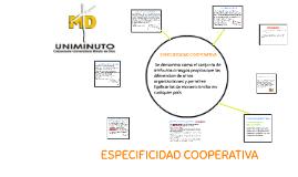 ESPECIFICIDAD COOPERATIVA