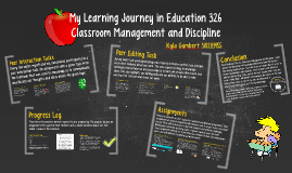 My Learning Journey in Education 326