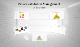 Broadcast Station Management