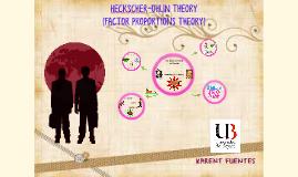 Theory Heckschel-ohlin
