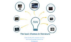 Basic themes of literature