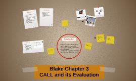Blake Chapter 3