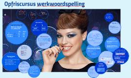 Copy of Opfriscursus werkwoordspelling
