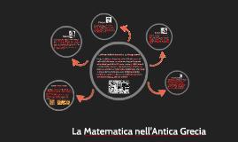 Antica Grecia e la Matematica