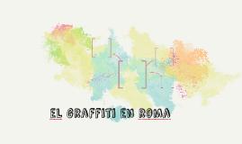 el grafitti en roma