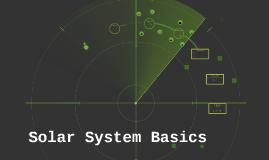 Solar System Basics