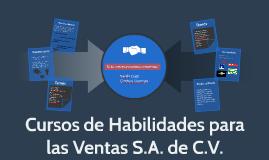 Copy of Cursos de Habilidades para las Ventas S.A. de C.V.