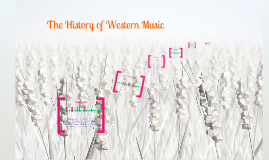 The History of Western Music