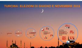 TURCHIA: ELEZIONI DI GIUGNO E NOVEMBRE 2015