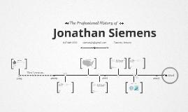 Timeline Prezumé by Jonathan Siemens