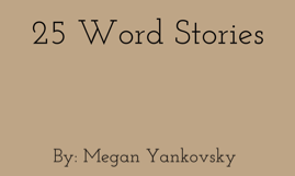 25 Word Stories