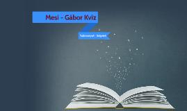 Mesi-Gábor kvíz megfejtések