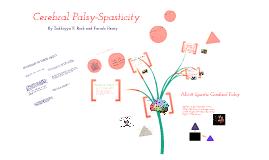 Cerebal Palsy-Spasticity