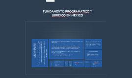 FUNDAMENTACION Y PROGRAMATICO Y