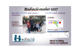 Copy of Mediació escolar 2017
