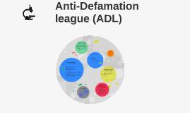 Administrative Defamination league