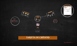 Copy of TARJETA DE CRÉDITO
