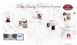 Huda Beauty: Conférence de presse