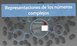 Representaciones de los números complejos