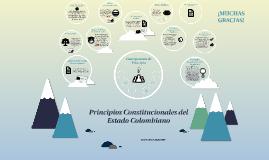 Copy of Principios Constitucionales del Estado Colombiano