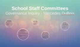 School Staff Committees