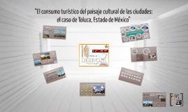 """""""El consumo turístico del paisaje cultural de las ciudades:"""