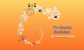 Copy of The Khulafa Rashideen