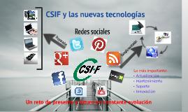 CSIF ante las nuevas tecnologías