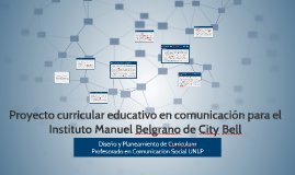 Copy of Coloquio Curriculum