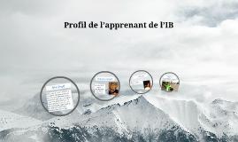 Profil de l'apprenant de l'IB
