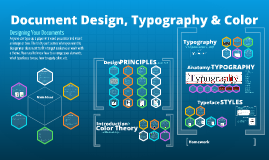 Document Design, Color, and Typography