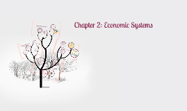 Copy of Copy of Chapter 2 Economic Systems