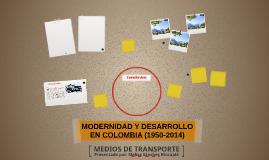 MODERNIDAD Y DESARROLLO