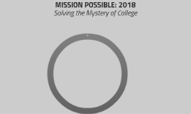MISSION POSSIBLE: 2018