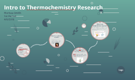 Intro to Thermochemistry Research