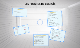 Copy of FUENTES DE ENERGÍA