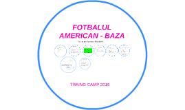 FOTBALUL AMERICAN - BAZA