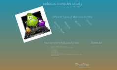 Malicious Computer Actvity