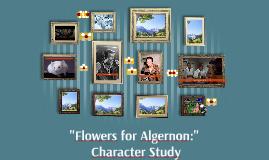"""""""Flowers for Algernon:"""""""